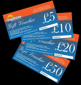 Poingdestres In-Store Gift Vouchers