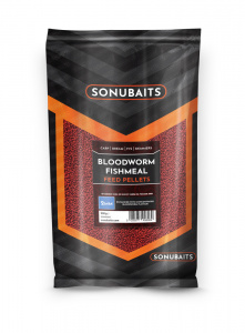 Sonubaits Bloodworm Fishmeal 2mm/4mm/6mm/8mm Feed Pellets