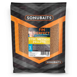 Sonubaits Fin Perfect 2mm/4mm Stiki Method Pellets