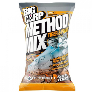 Bait-Tech Tiger & Peanut Big Carp Method Mix