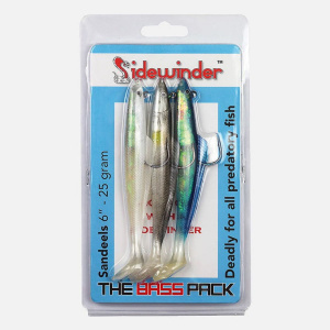 Sidewinder Sandeel 'The Bass Pack' Selection