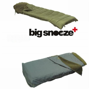 Trakker Big Snooze Plus Sleeping Bag & Thermal Bedchair Cover Combo