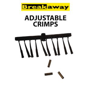 Breakaway Adjustable Fishing Crimps x 20