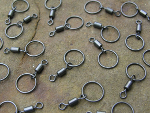 Atomic Tackle 10mm Flexi-Ring Swivel