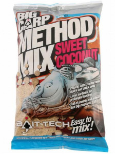 Bait-Tech Sweet Coconut Big Carp Method Mix